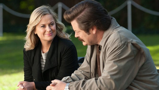 Amy Poehler and Nick Offerman Reunite for NBC Reality Series