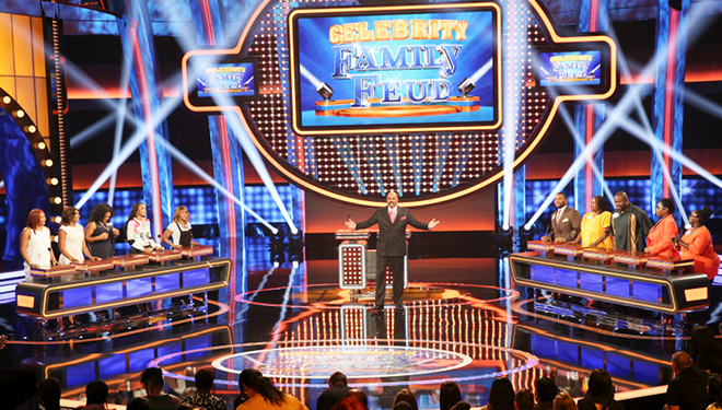 'Celebrity Family Feud' Episode Guide (July 31): The Bachelor vs The Bachelorette