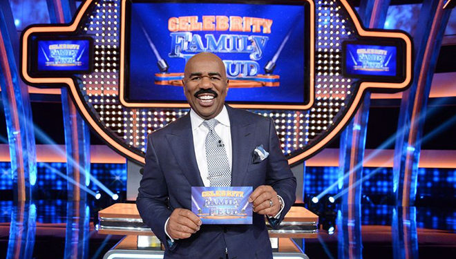 'Celebrity Family Feud' Episode Guide (June 25): The Harvey Boys vs The Harvey Girls