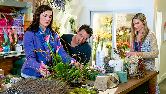 Original Telefilm 'Flower Shop Mystery: Snipped in the Bud' Premieres Tonight on Hallmark Movies & Mysteries