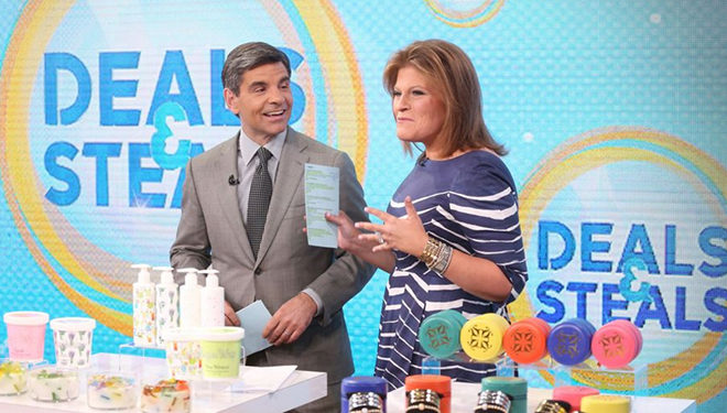 'Good Morning America' (Jan. 26): Tory Johnson's 'Deals and Steals' Products; Laurence Fishburne