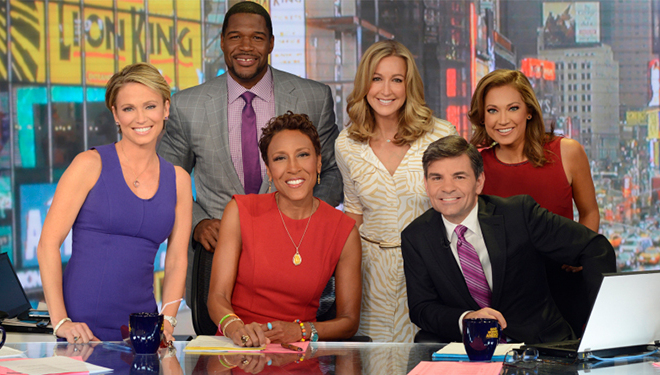 'Good Morning America' (April 24): Caitlyn Jenner; Kobe Bryant; Sheryl Sandberg