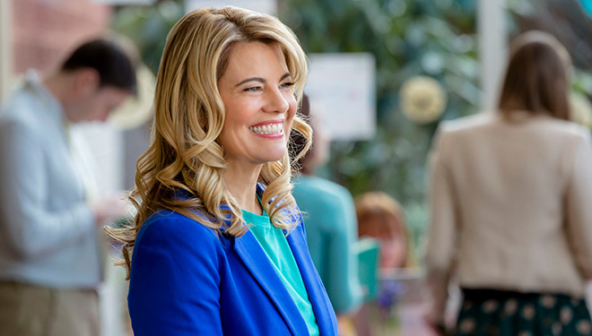 Lisa Whelchel Stars in the Hallmark Original Telefilm 'Hearts of Spring' Premieres Tonight