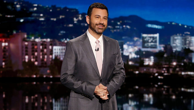 This Week's 'Jimmy Kimmel Live' Guests: Ed Helms; Justin Theroux; Bryan Cranston; Johnny Depp