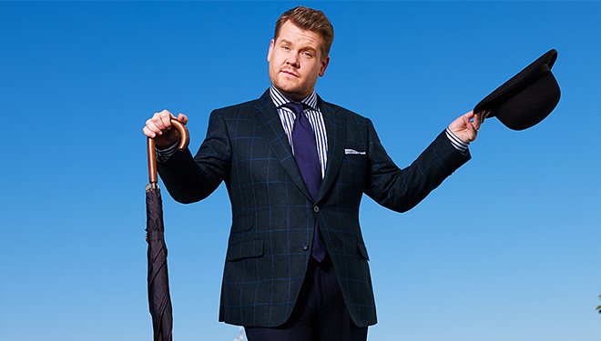 This Week's 'Late Late Show with James Corden' Guests: Jason Schwartzman; Amanda Peet; Salma Hayek