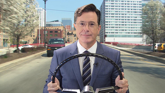 This Week's 'Late Show with Stephen Colbert' Guests: Hillary Clinton; Kevin Spacey; Tom Hanks
