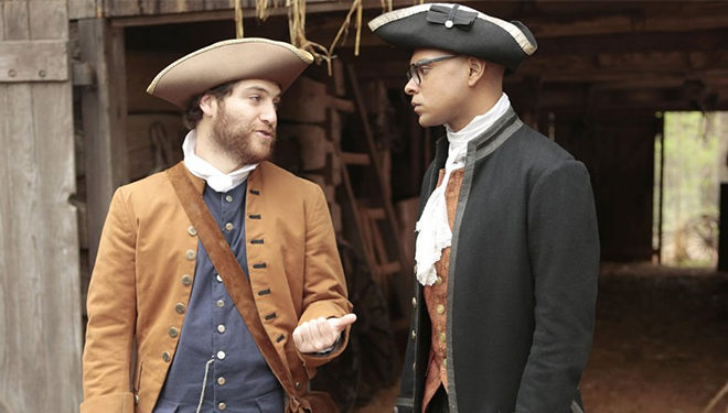'Making History' Episode Guide (May 7): Sam Adams and John Hancock Battle for Love