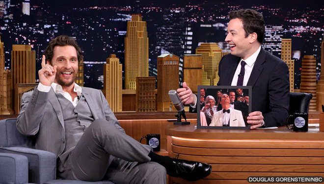 Matthew McConaughey to Host 'SNL' in November