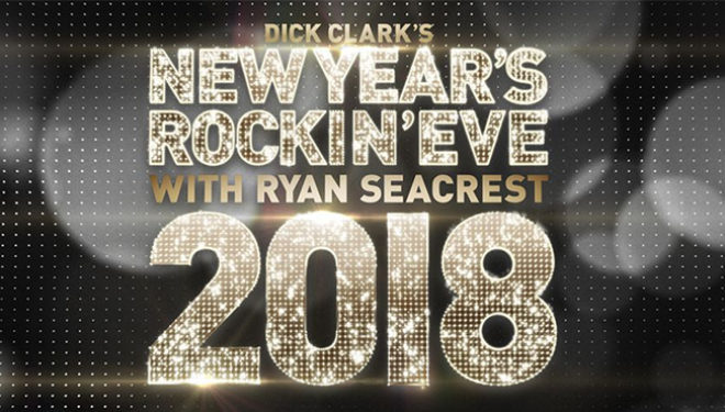 Ryan Seacrest Hosts 2018 'Dick Clark's New Year's Rockin' Eve' Tonight on ABC