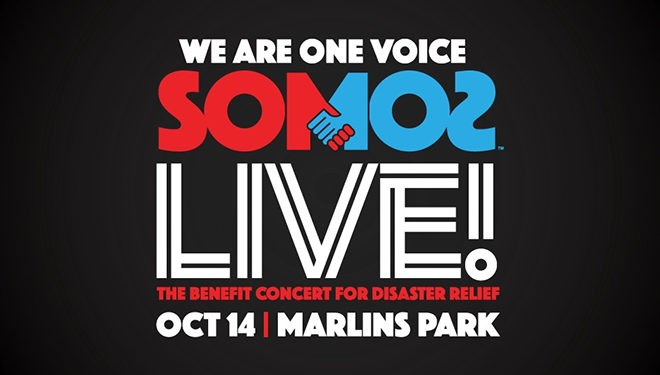 Benefit Concert Telecast 'One Voice: Somos Live! A Concert for Disaster Relief' Airs Live Tonight on NBC
