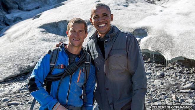 'Running Wild With Bear Grylls' Episode Guide (Dec. 17): President Obama Treks Through Alaska