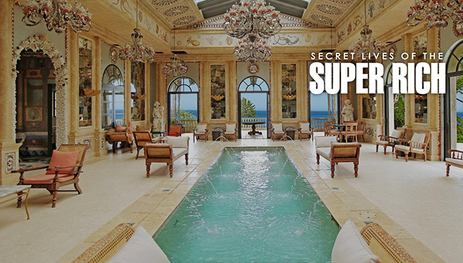 'Secret Lives of the Super Rich' Episode Guide (Jan. 26): An Alcohol Empire's $50M Party Mansion