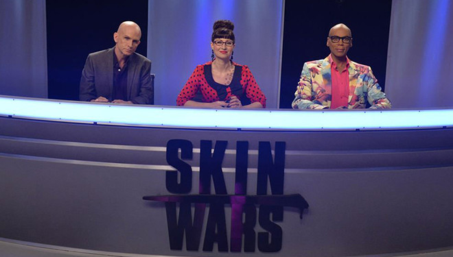 Body Painting Series 'Skin Wars' Rallies to Series High Rating