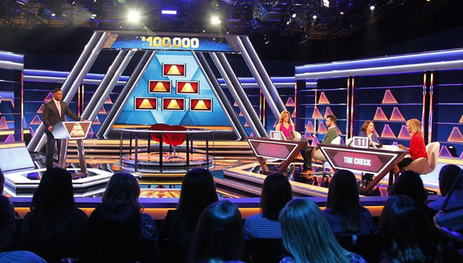 'The $100K Pyramid' Episode Guide (June 25): Aaron Rodgers; Erin Andrews; Italia Ricci; Robbie Amell