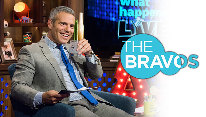 Andy Cohen Hosts the Inaugural 'The Bravos' Live Tonight