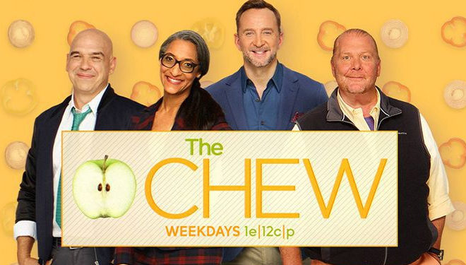'The Chew' Episode Guide (Oct. 4): Eggplant Parmesan Tacos; Roselyn Sanchez and Eric Winter