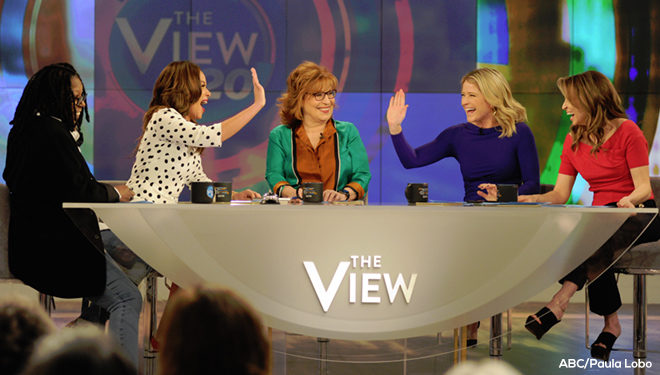 'The View' Episode Guide (April 10): 5th Annual 'The View' and 'The Chew' Cook-Off