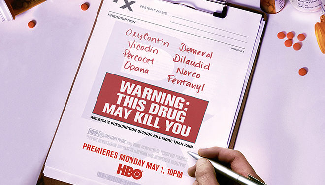 Documentary 'Warning: This Drug May Kill You' Premieres Tonight on HBO