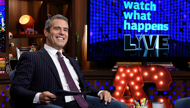 This Week's 'Watch What Happens Live' Guests: Kate Hudson; Zooey Deschanel; Robin Thicke