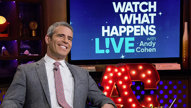 This Week's 'Watch What Happens Live' Guests: Golnesa Gharachedaghi; Ryan Serhant; Julie Klausner